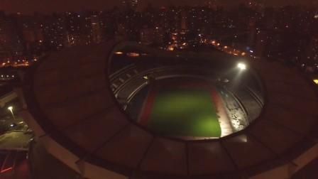 航拍上海体育场