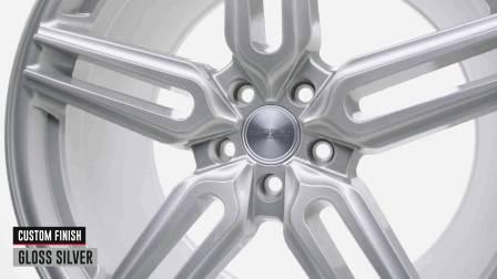 Vossen HF Series系列 _ HF-1 _ Gloss Silver 光泽银