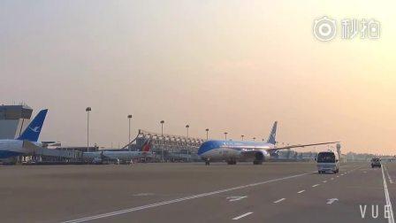 厦航接收联合国可持续发展目标彩绘787