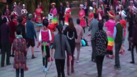永平县山水美居打歌队全民健身运动