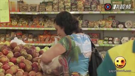 『8247』美女恶搞超市裸女大恶搞