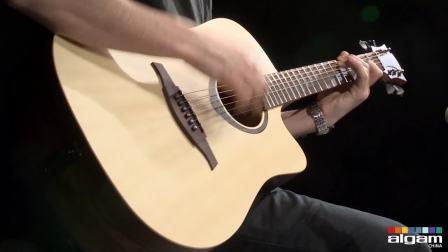 Guitare Lag Tramontane T270DCE avec préampli Fishman (vidéo de La Boite Noire)