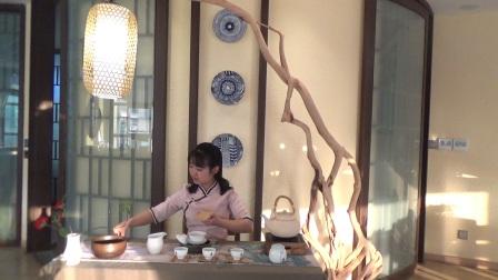 干泡茶艺表演,茶道培训机构【天晟茶艺第140期】
