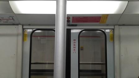 上海地铁1号线(AEG西门子DC01C型)伪八二世列车旧车厢关门