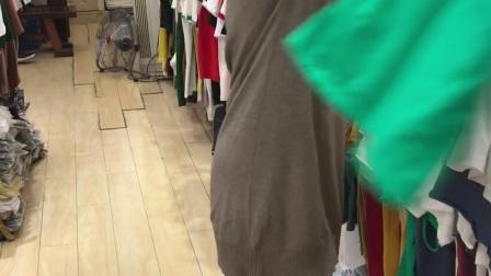 24元女士新款爆版上衣短袖T恤系列混批 均码系列 一百多个花色全是2018新款 洗水棉  配货不止视频款 100件起批 第二段