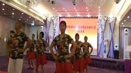 全国广场舞大赛;香港赛区;新宁黄龙老年队表演