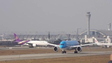 荷兰皇家航空 KLM PH-BHG 波音787-9 成都双流机场20L起飞 蒋蕴龙