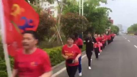 上杭黎明脚步俱乐部第100次团跑
