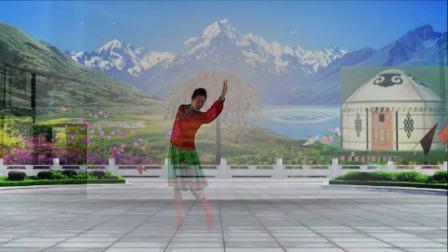 丹凤朝阳广场舞:锡林郭勒的星星:艺莞儿