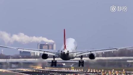 阿姆斯特丹机场大侧风降落