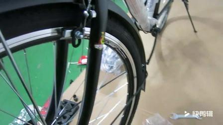 凤凰自行车男款安装视频细节解说