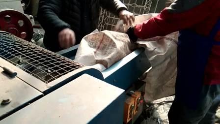 吨包袋剪切条废旧吨包袋切碎机粉碎破碎
