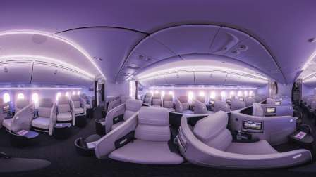 【新西兰航空】豪华公务舱 360全景