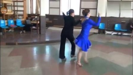 朱丽萍双人桑巴舞教学