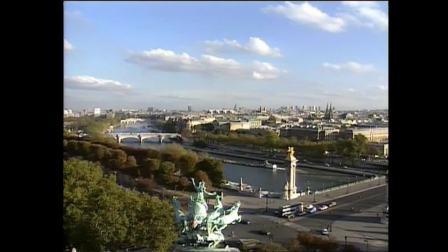 法国巴黎荣军院协和广场与杜乐丽花园
