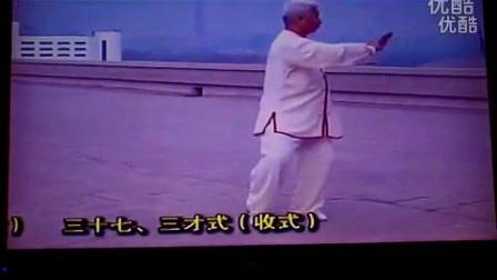 东岳太极拳竞赛套路37式81
