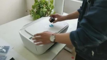 3636拆机墨盒安装视频
