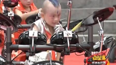 2009东方卫视迎世博走进连云港罗兰教育学员表演
