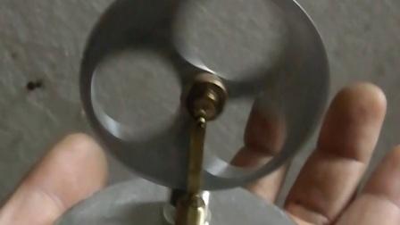 体温驱动的斯特林伽玛机