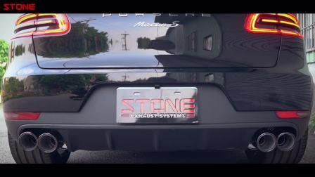 STONE(巨石)保时捷Macan S 3.0T双电子阀门中尾段