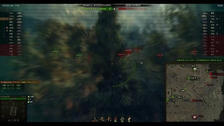 【WOT】坦克世界LOD解说  tvpt50  6杀翻盘