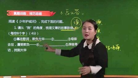 初中-语文-余国琴-1.考点一  概括内容,理清脉络-1
