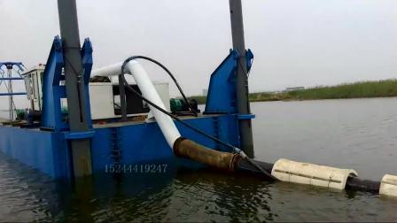 山东河道绞式挖泥船处理量150方