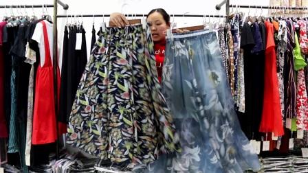 衣源购387期半身裙夏季女装批发系列视频