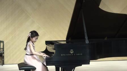 7岁Jessica Wang plays Sonatina Op. 151. no. 3 by Diabelli