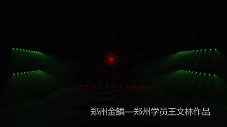 郑州金鳞-郑州学员王文林灯光秀作品