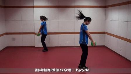 按摩球韵律操《新时代跳起来》环京体育整段示范加演讲