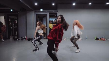 【1M】 孟佳探班好友mina舞蹈课堂, Mina Myoung编舞Pose remix