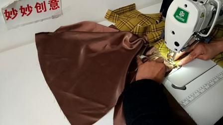 妙妙创意-服装制作视频背心连衣裙缝制视频女童连衣裙制作视频第一集