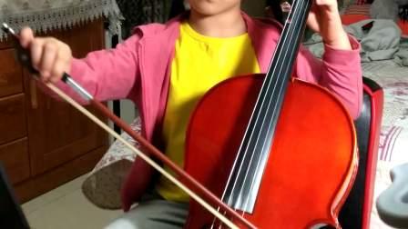咪咪小盆友大提琴《小圆舞曲》