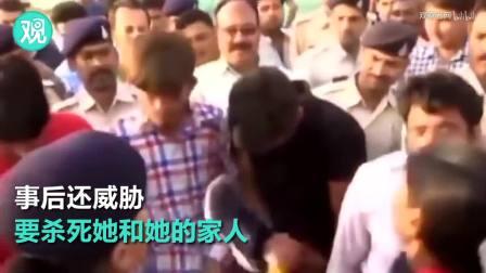 印度四名强奸犯街头游行 被妇女轮流扇耳光, 我只能说干得漂亮