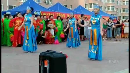 松原王晓香等表演蒙古舞-舞动东北