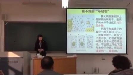 初中化学组模拟试讲上课《溶液的形成》(第二届山东省师范生教学技能大赛视频) 一等奖