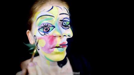 人绘 毕加索笔下的女人走下画布,你敢看么?