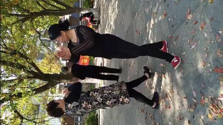 手机视频 小蒸陈阿姨跳广场舞