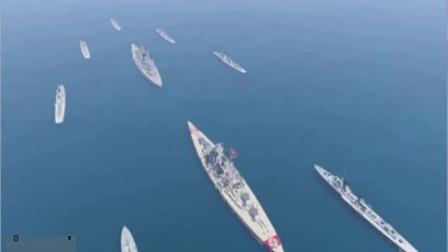 GTA5被玩成军舰海战游戏?玩家在游戏中组中国战舰队