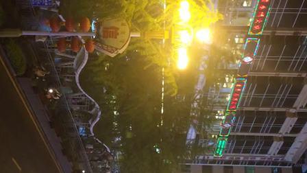 桂林中心广场延时夜景
