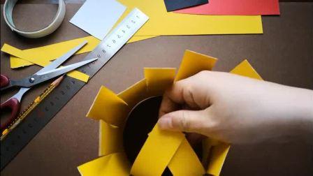 美术微课:《趣味折纸:愤怒的小鸟》