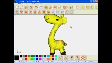 图易玩具设计:小鹿造型与开版