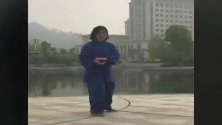 杨式太极汪脉老六路在江西 演练:欧阳莉