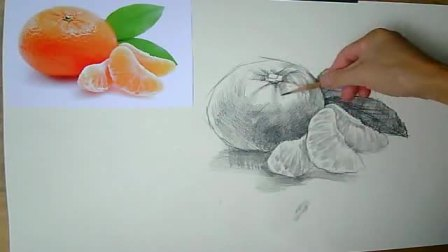 卡通人物铅笔画图片 创意素描图片视觉冲击 速写树的画法