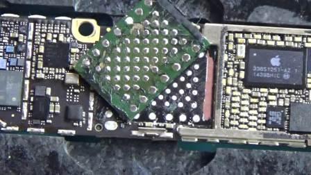 最新手机维修培训 CPUWHY手机维修培训视频 苹果手机硬盘拆装技巧