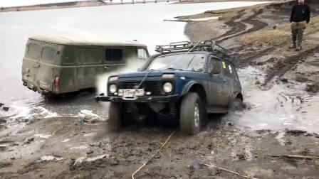 俄罗斯SUV拉达  ЛАДА НИВА LADA NIVA 4×4 这越野能力行吗?