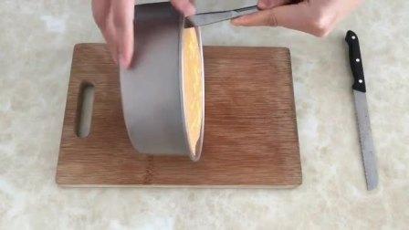武汉蛋糕培训 8寸戚风蛋糕烤多久 奶油芝士蛋糕的做法