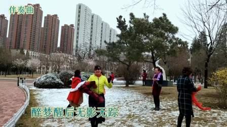 千古美人-伴奏曲-记2018.4.6日雨雪后-鞍山立山公园