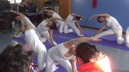 雨山区老年大学第二十届校园文化艺术节瑜伽